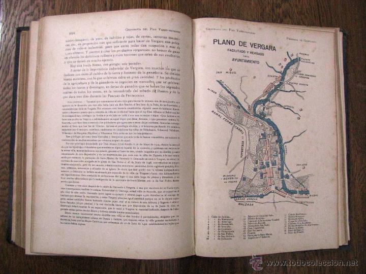 Libros antiguos: ANTIGUA GEOGRAFIA GRAL PAIS VASCO NAVARRO GUIPUZCOA SERAPIO MUGICA ALBERTO MARTIN BARCELONA C 1900 - Foto 32 - 47058113