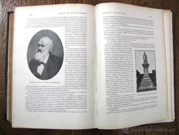 Libros antiguos: ANTIGUA GEOGRAFIA GRAL PAIS VASCO NAVARRO GUIPUZCOA SERAPIO MUGICA ALBERTO MARTIN BARCELONA C 1900 - Foto 34 - 47058113