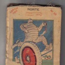 Livros antigos: MAPA MICHELIN ESPAÑA EN 13 HOJAS Nº 10 CIUDAD REAL - GUIA - MICHELIN DA AL AUTOMOVIL ELEGANTE.... Lote 47070396