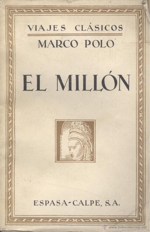 marco polo. el millón. madrid, 1934. - Comprar Libros antiguos de ...