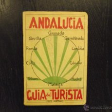 Libri antichi: ANDALUCIA GUIA DEL TURISTA, FRITZ KOETHKE, 1929. Lote 47860341