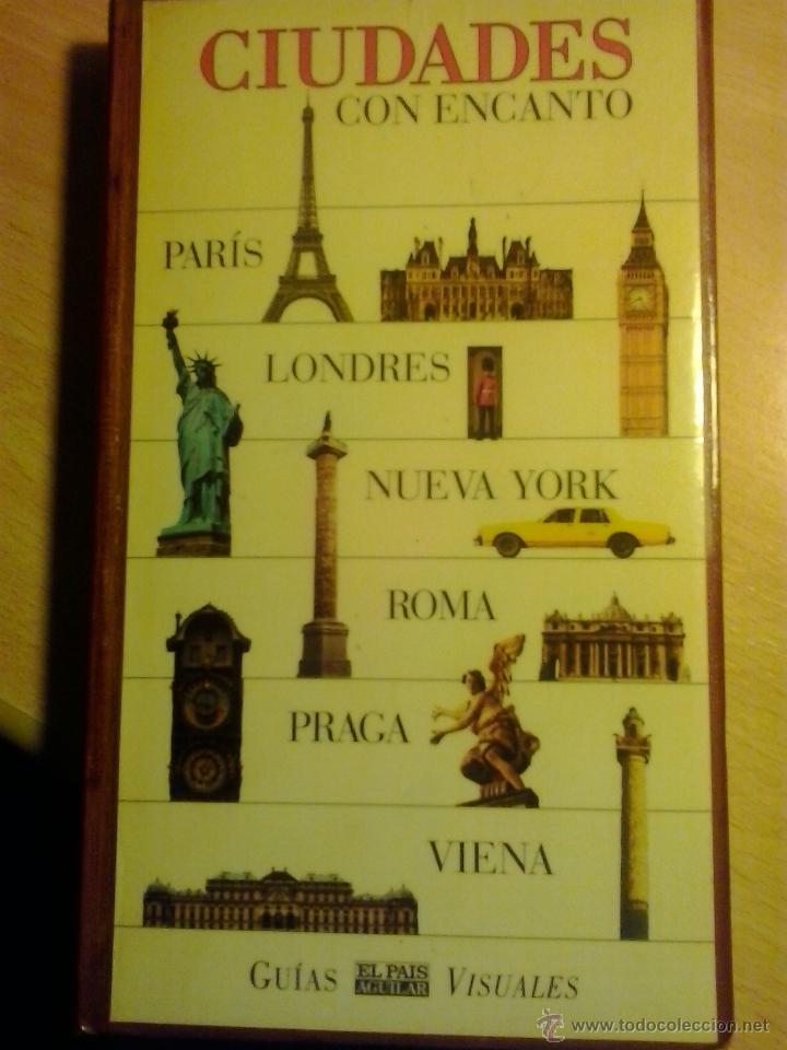 CIUDADES CON ENCANTO-GUIAS VISUALES-EL PAIS AGUILAR (Libros Antiguos, Raros y Curiosos - Geografía y Viajes)