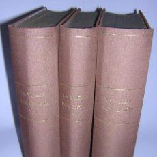 Libros antiguos: 1872 - LA VUELTA POR ESPAÑA - VIAJE HISTÓRICO, GEOGRÁFICO Y CIENTÍFICO - 3 TOMOS - GRABADOS. Lote 48181551