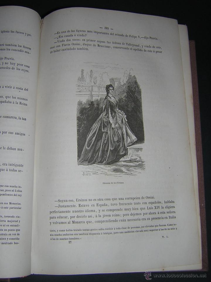 Libros antiguos: 1872 - LA VUELTA POR ESPAÑA - VIAJE HISTÓRICO, GEOGRÁFICO Y CIENTÍFICO - 3 TOMOS - GRABADOS - Foto 7 - 48181551