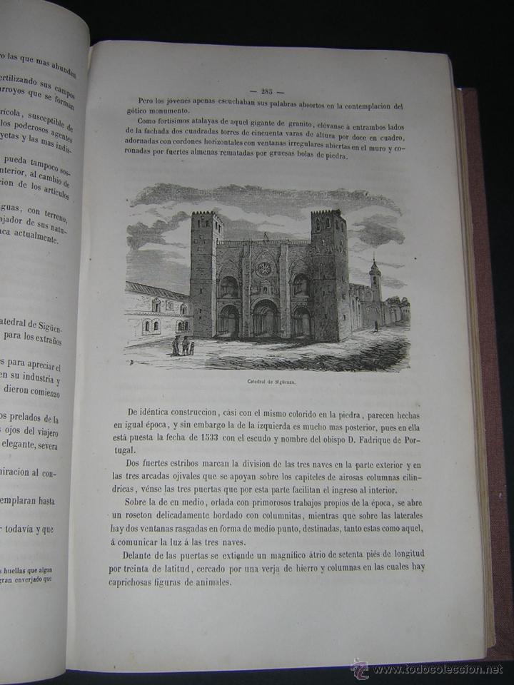 Libros antiguos: 1872 - LA VUELTA POR ESPAÑA - VIAJE HISTÓRICO, GEOGRÁFICO Y CIENTÍFICO - 3 TOMOS - GRABADOS - Foto 8 - 48181551