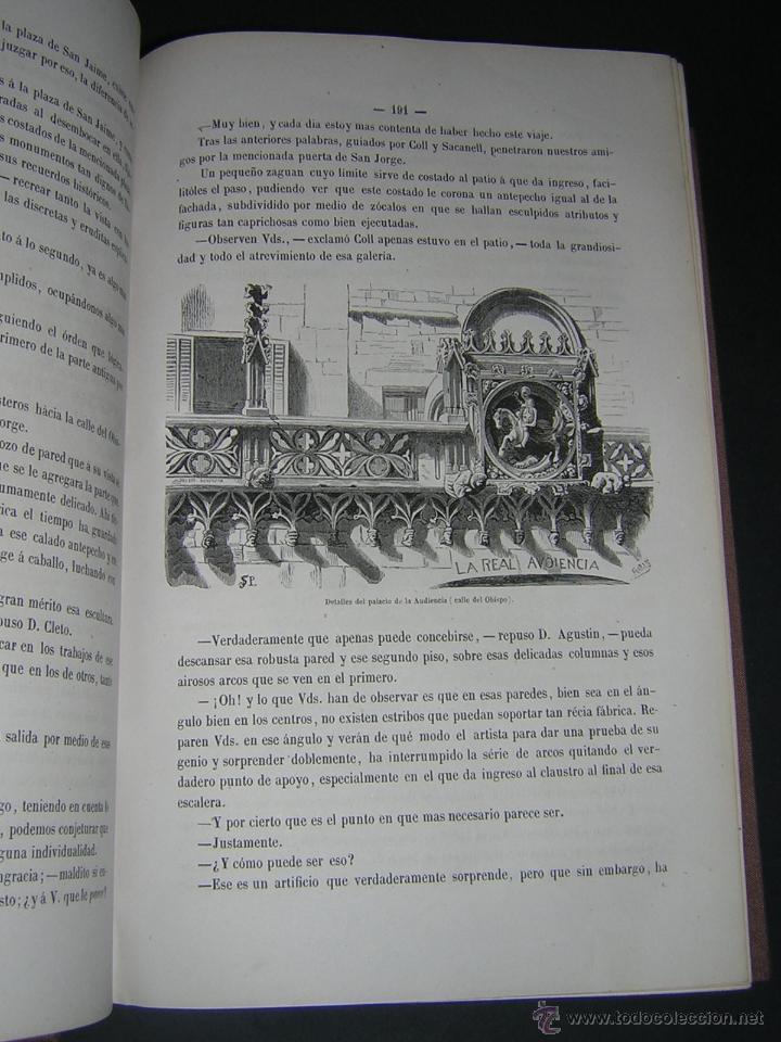 Libros antiguos: 1872 - LA VUELTA POR ESPAÑA - VIAJE HISTÓRICO, GEOGRÁFICO Y CIENTÍFICO - 3 TOMOS - GRABADOS - Foto 15 - 48181551