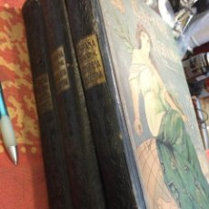 Libros antiguos: ESPAÑA REGIONAL 1910, 3 TOMOS. Lote 48326221