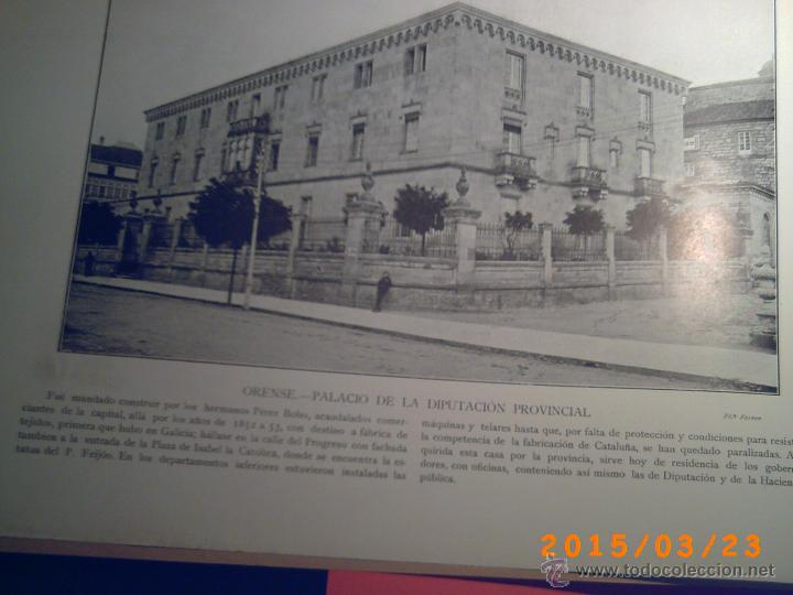 Libros antiguos: PORTFOLIO GALICIA-PEDRO FERRER 1904-FASCICULO SERIE 2ª-CUADERNO Nº 17-20/03/1913- FOTOGRABADADOS - Foto 4 - 48604041