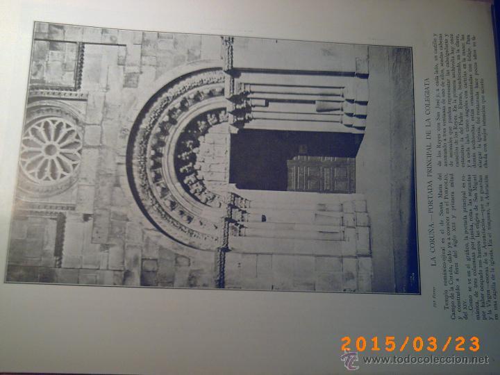 Libros antiguos: PORTFOLIO GALICIA-PEDRO FERRER 1904-FASCICULO SERIE 2ª-CUADERNO Nº 17-20/03/1913- FOTOGRABADADOS - Foto 5 - 48604041