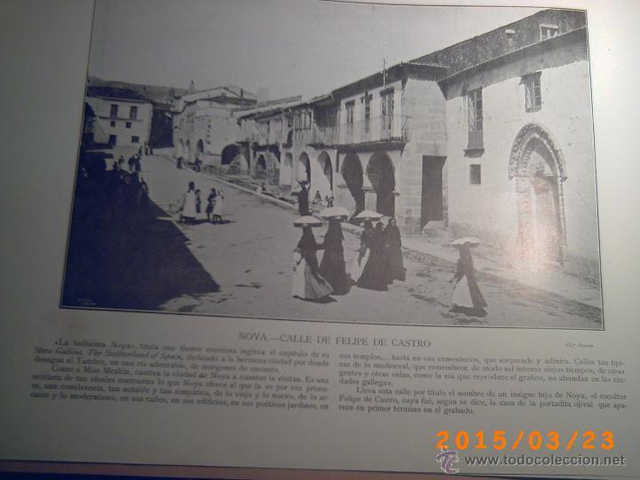 Libros antiguos: PORTFOLIO GALICIA-PEDRO FERRER 1904-FASCICULO SERIE 2ª-CUADERNO Nº 17-20/03/1913- FOTOGRABADADOS - Foto 8 - 48604041