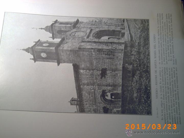 Libros antiguos: PORTFOLIO GALICIA-PEDRO FERRER 1904-FASCICULO SERIE 2ª-CUADERNO Nº 17-20/03/1913- FOTOGRABADADOS - Foto 9 - 48604041