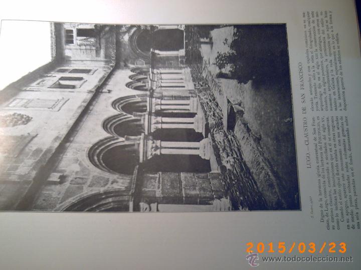 Libros antiguos: PORTFOLIO GALICIA-PEDRO FERRER 1904-FASCICULO SERIE 2ª-CUADERNO Nº 17-20/03/1913- FOTOGRABADADOS - Foto 11 - 48604041