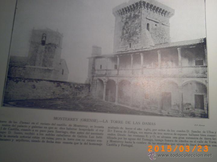 Libros antiguos: PORTFOLIO GALICIA-PEDRO FERRER 1904-FASCICULO SERIE 2ª-CUADERNO Nº 17-20/03/1913- FOTOGRABADADOS - Foto 12 - 48604041