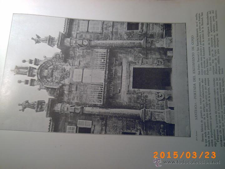 Libros antiguos: PORTFOLIO GALICIA-PEDRO FERRER 1904-FASCICULO SERIE 2ª-CUADERNO Nº 17-20/03/1913- FOTOGRABADADOS - Foto 13 - 48604041