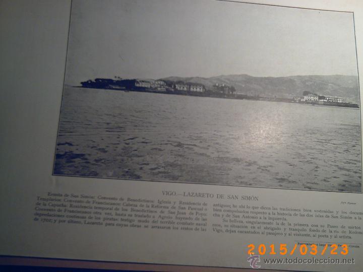 Libros antiguos: PORTFOLIO GALICIA-PEDRO FERRER 1904-FASCICULO SERIE 2ª-CUADERNO Nº 17-20/03/1913- FOTOGRABADADOS - Foto 14 - 48604041