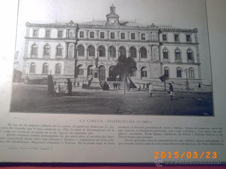 Libros antiguos: PORTFOLIO GALICIA-PEDRO FERRER 1904-FASCICULO SERIE 2ª-CUADERNO Nº 10-20/01/2011 FOTOGRABADADOS - Foto 3 - 48604208