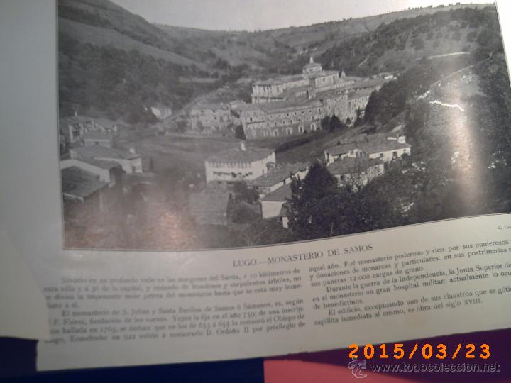 Libros antiguos: PORTFOLIO GALICIA-PEDRO FERRER 1904-FASCICULO SERIE 2ª-CUADERNO Nº 10-20/01/2011 FOTOGRABADADOS - Foto 4 - 48604208
