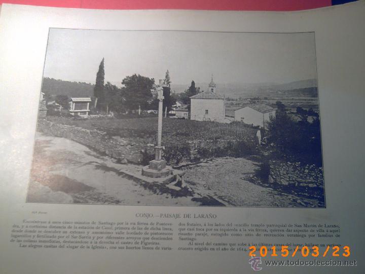 Libros antiguos: PORTFOLIO GALICIA-PEDRO FERRER 1904-FASCICULO SERIE 2ª-CUADERNO Nº 10-20/01/2011 FOTOGRABADADOS - Foto 5 - 48604208