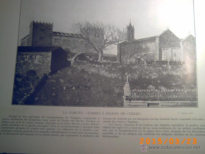 Libros antiguos: PORTFOLIO GALICIA-PEDRO FERRER 1904-FASCICULO SERIE 2ª-CUADERNO Nº 10-20/01/2011 FOTOGRABADADOS - Foto 6 - 48604208