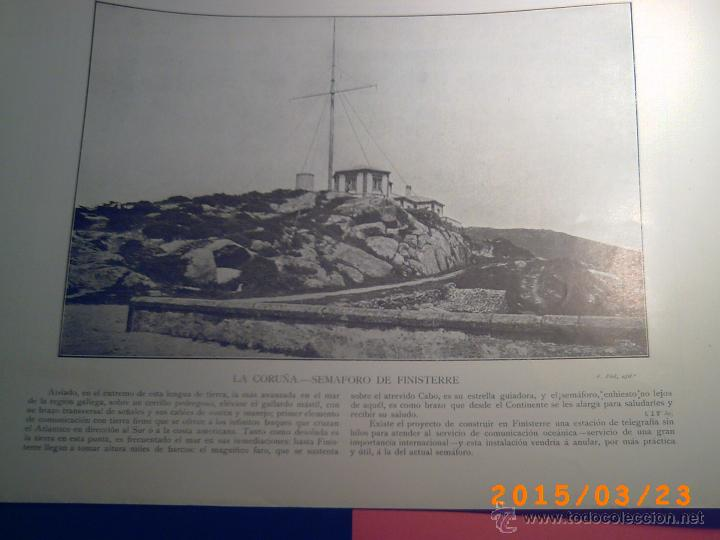 Libros antiguos: PORTFOLIO GALICIA-PEDRO FERRER 1904-FASCICULO SERIE 2ª-CUADERNO Nº 10-20/01/2011 FOTOGRABADADOS - Foto 9 - 48604208