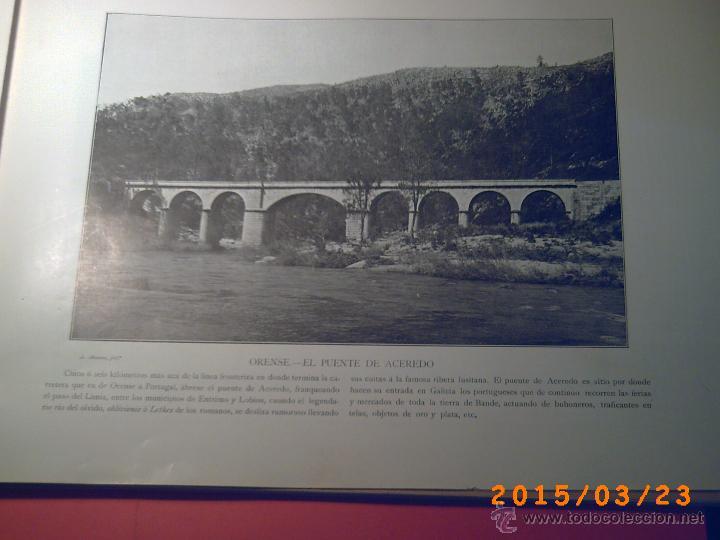 Libros antiguos: PORTFOLIO GALICIA-PEDRO FERRER 1904-FASCICULO SERIE 2ª-CUADERNO Nº 10-20/01/2011 FOTOGRABADADOS - Foto 12 - 48604208