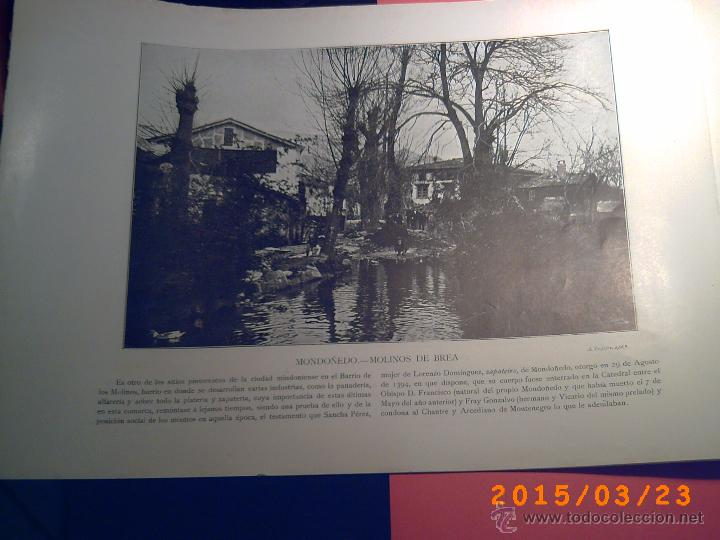 Libros antiguos: PORTFOLIO GALICIA-PEDRO FERRER 1904-FASCICULO SERIE 2ª-CUADERNO Nº 10-20/01/2011 FOTOGRABADADOS - Foto 13 - 48604208