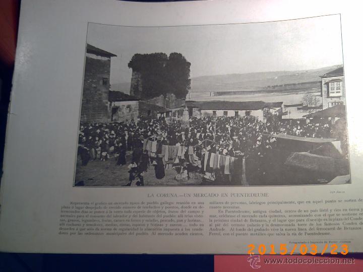 Libros antiguos: PORTFOLIO GALICIA-PEDRO FERRER 1904-FASCICULO SERIE 2ª-CUADERNO Nº 10-20/01/2011 FOTOGRABADADOS - Foto 15 - 48604208