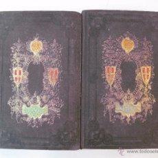 Libros antiguos: LA GEOGRAFIA UNIVERSAL. D.M. DEL RIO. 2 TOMOS. LIBRERIA ESPAÑOLA - PLUS ULTRA. 1857.. Lote 49109897