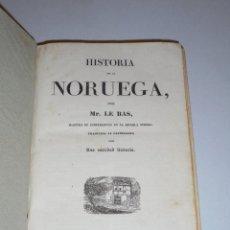 Libros antiguos: PANORAMA UNIVERSAL - HISTORIA DE NORUEGA / HISTORIA DE CHILE ,2 VOLUMENS EN 1 , BARCELONA 1839 . Lote 49197321