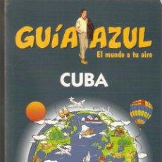 Libros antiguos: CUBA. GUÍA AZUL. Lote 49200089