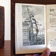 Livres anciens: AÑO 1792. VIAGE (VIAJE) DE ESPAÑA. ANTONIO PONZ. IBARRA. CÓRDOBA, CÁDIZ. TOMO XVII. Lote 49202270