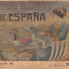 Libros antiguos: PORTAFOLIO FOTOGRAFICO DE ESPAÑA Nº 36. BILBAO - 1900 ?. Lote 49324311