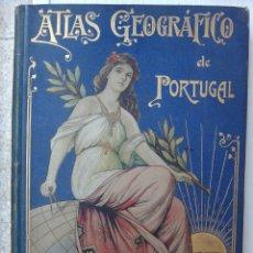 Libros antiguos: LIBRO ATLAS GEOGRAFICO DE PORTUGAL , 1903 , EDITOR A MARTIN , MAPAS , ORIGINAL. Lote 49530099