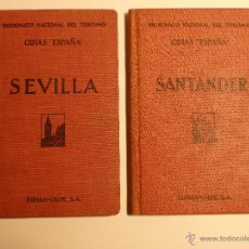 "Libros antiguos: GUÍAS ""ESPAÑA"" SEVILLA Y GUÍAS ""ESPAÑA"" SANTANDER. Lote 49986151"