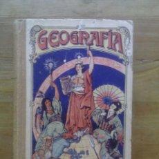Libros antiguos: GEOGRAFÍA PARA NIÑOS / ESTEBAN PALUZÍE / EDICIÓN 1925 / HIJOS DE PALUZÍE CASA EDITORIAL. Lote 50136403