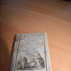 Libros antiguos: KALENDARIO MANUAL Y GUIA DE FORASTEROS DE MADRID AÑO 1770 CARLOS III RARO. Lote 50228235