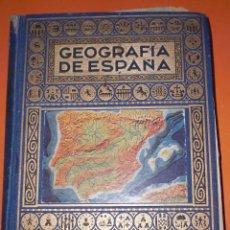 Libros antiguos: GEOGRAFIA DE ESPAÑA 1963. Lote 50248310