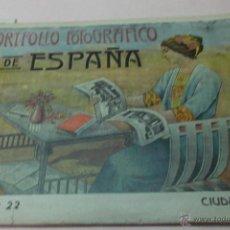 Libros antiguos: PORTFOLIO FOTOGRAFICO DE ESPAÑA. CIUDAD REAL. CUADERNO 22. 2 HOJAS DE TEXTO, 1 MAPA Y 16 FOTOGRAFÍAS. Lote 50560517