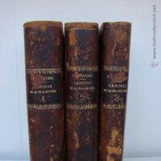 Libros antiguos: CAMINOS DE LA ISLA DE CUBA. ESTEBAN PICHARDO. 1865. 3 TOMOS. OBRA COMPLETA. Lote 50625401