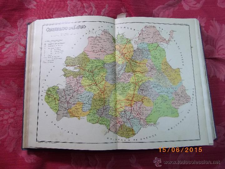 Libros antiguos: Geografía General del Reino de Galícia. completa 6 tomos. Carreras y Candi. Excelente estado. - Foto 10 - 50738883