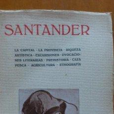 Libros antiguos: SANTANDER 1928 . Lote 51123001