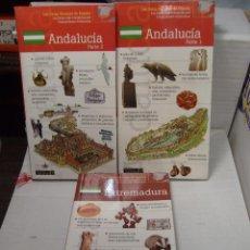 Libros antiguos: GUIAS TURISTICAS DE VIAJE ANDALUCIA Y EXTREMADURA NUEVAS. Lote 51194390