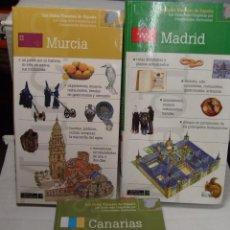 Libros antiguos: LOTE GUIAS TURISTICAS DE VIAJE MADRID MURCIA CANARIAS NUEVAS IMPECABLES. Lote 51194454