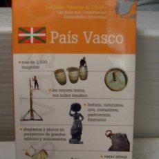 Libros antiguos: GUIA TURISTICA DE VIAJE PAIS VASCO NUEVA IMPECABLE. Lote 51194500