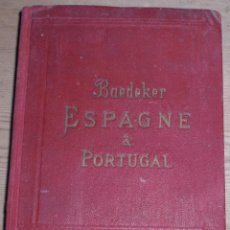 Libros antiguos: GUIA DE ESPAÑA Y PORTUGAL 1920. Lote 51221650