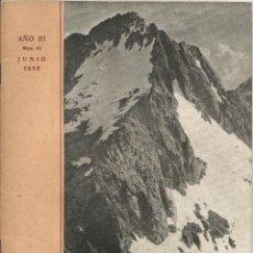 Libros antiguos: CENTRO EXCURSIONISTA DE CATALUÑA BOLETIN DE LA SECCION DE MONTAÑA Y C. A. D. E. Nº 10 AÑO 1950. Lote 51490328