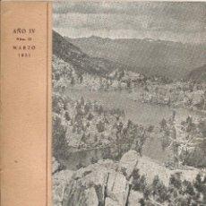 Libros antiguos: CENTRO EXCURSIONISTA DE CATALUÑA BOLETIN DE LA SECCION DE MONTAÑA C. A. D. E. Nº 13 AÑO 1951 PIRINEO. Lote 51490538