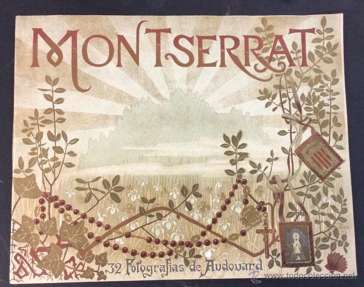 MONTSERRAT. 32 FOTOGRAFÍAS DE AUDOUARD. 28 X 35 CM. (Libros Antiguos, Raros y Curiosos - Geografía y Viajes)