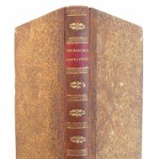 Libros antiguos: 1814. RECHERCHES GÉOGRAPHIQUES ET CRITIQUES SUR LE LIVRE DE MENSURA ORBIS TERRAE. Lote 51936996