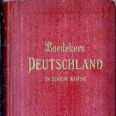 Libros antiguos: BAEDECKERS DEUTSCHLAND - BAEDECKER LEIPZIG 1932 - DAS DEUTSCHE REICH. Lote 52450289